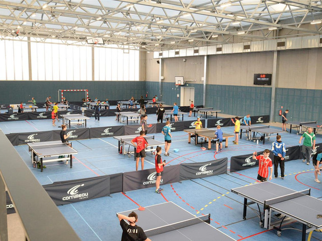 Photo d'ensemble d'un stage d'Istres Tennis de Table