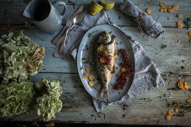 LATEST POST: Sea Bream with Kumquat & Herbs in the oven