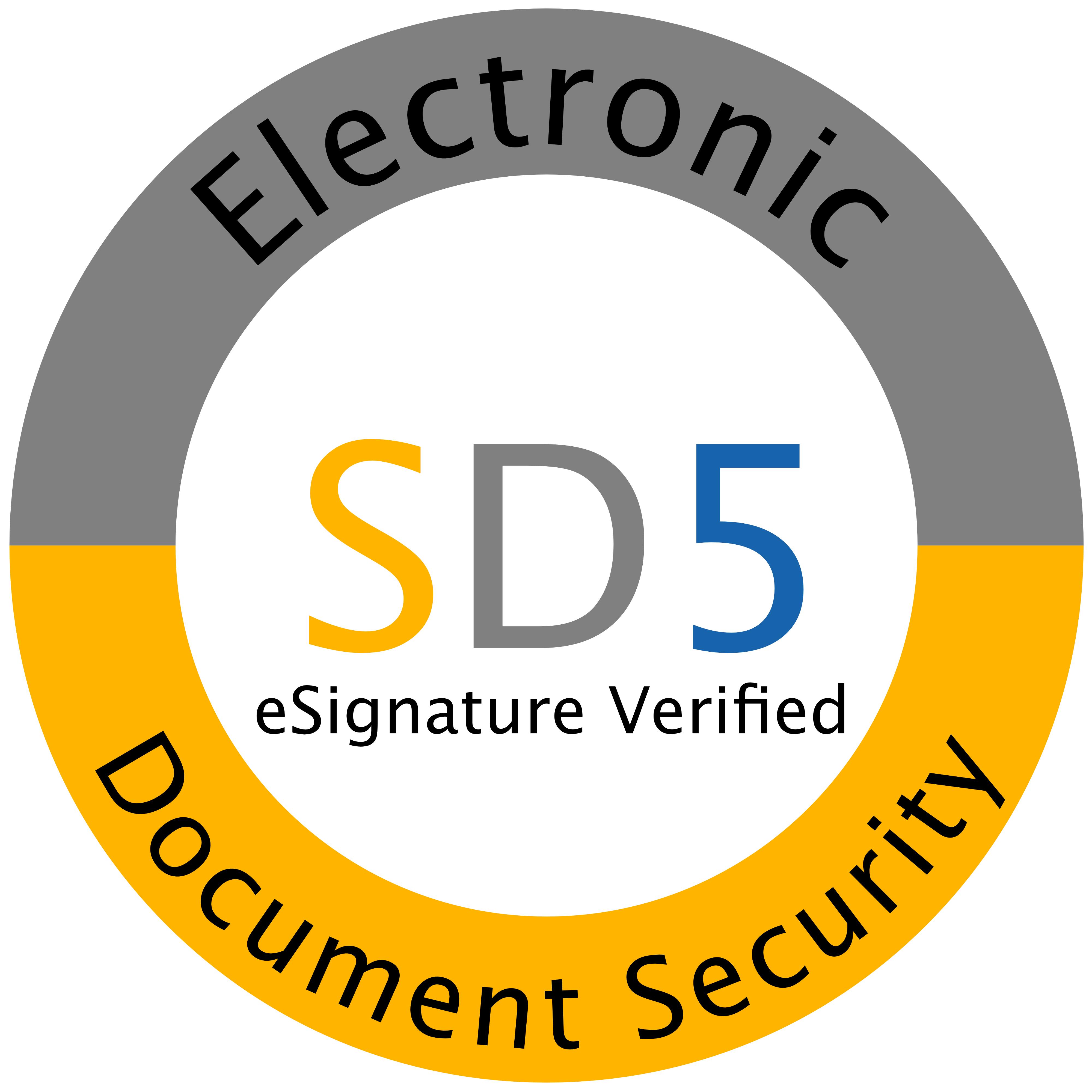 eSignatue for one document