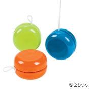 Neon yo-yos
