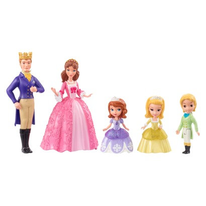 Disney Sofia the first royal family gift set