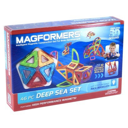 Magformers deep sea toy building set