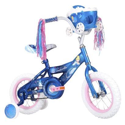 Huffy Cinderella 12' bike, blue