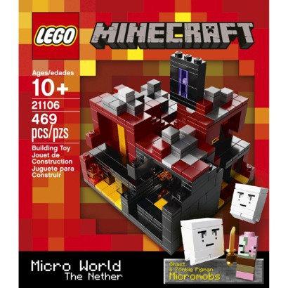 Lego Cuusco minecraft micro world the neether
