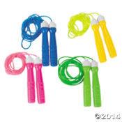 Glitter jump rope