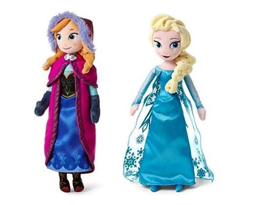"""Disney Frozen sisters doll set 16"""""""