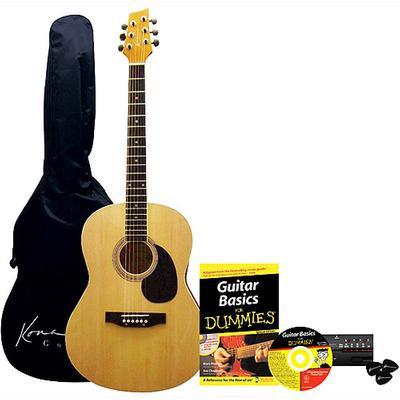 Acoustic guitar for dummies bundle