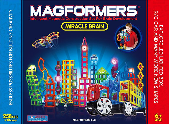 Magformers Miracle Brain