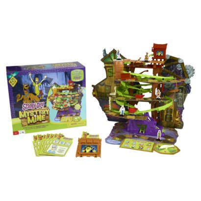 Pressman scooby doo mystery mine board game