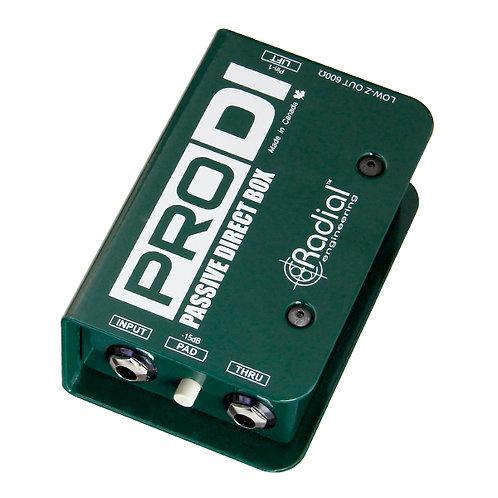 Radial Pro Passive Di Box