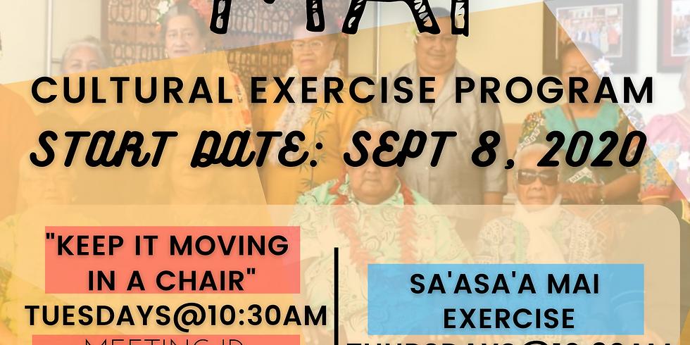 Sa'asa'a Mai (Virtual Senior Exercise Program)