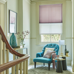 Day & Night: Henley Stripe & lavender