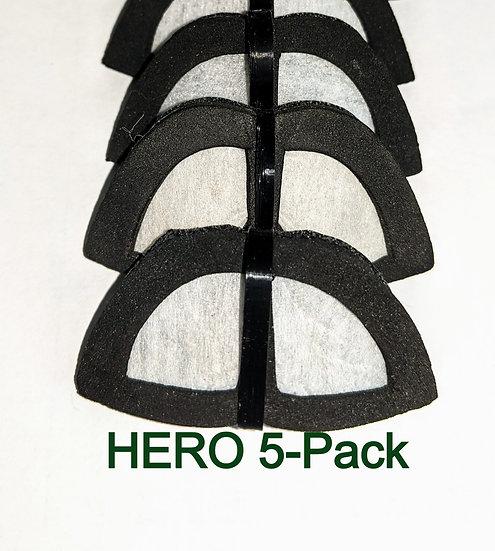 HERO Mammoth Filter Pack (5)