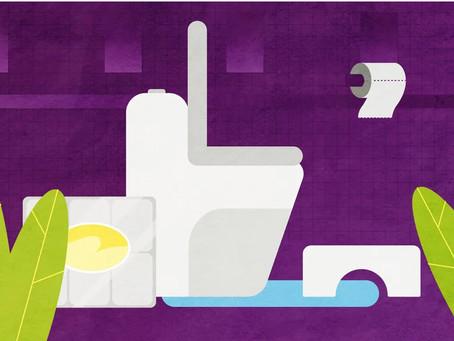 Как правильно сидеть в туалете
