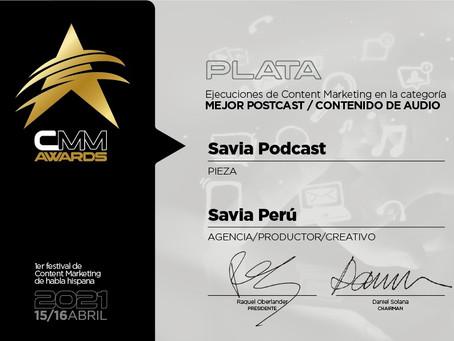 Podcast peruano recibe premio internacional de Content Marketing Meeting