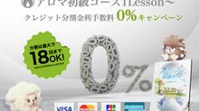 【2/1〜】クレジット金利0%キャンペーンがスタートします!