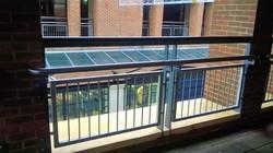 Gunwharf Quays railings works