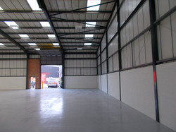Warehouse redecorations