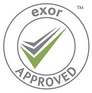 A business with Exor accreditation is known to be financially stable, compliant with legislation relevant to the work carried out by the business, and reliable, with a trading history checked by the sourcing of independent references