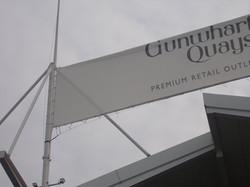 Canopy Cleans Gunwharf