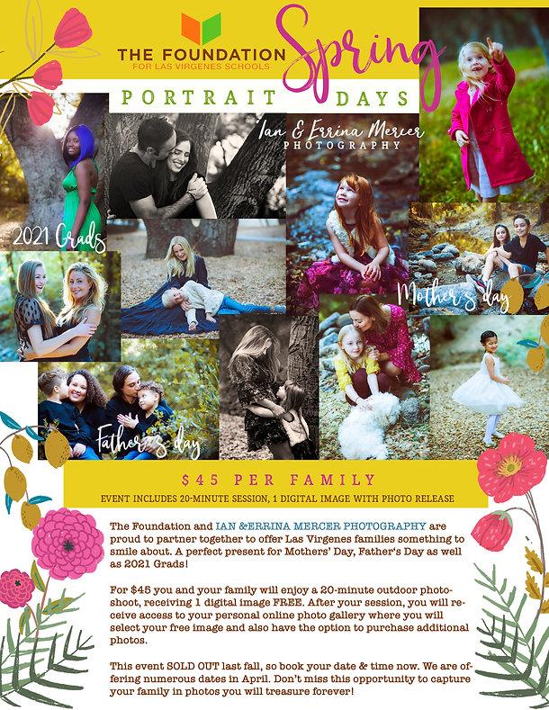 LVUSD2 Family Portrait Days Spring 2021.