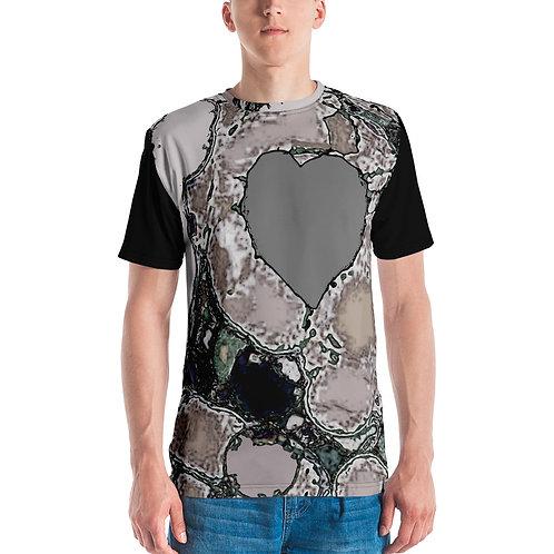Men's T-shirt A heart of stone