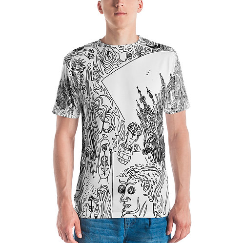 Men's T-shirt Seven cities