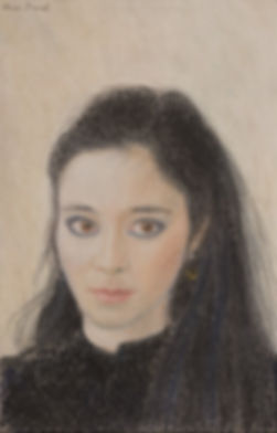 A Pastel of a Lady.JPG