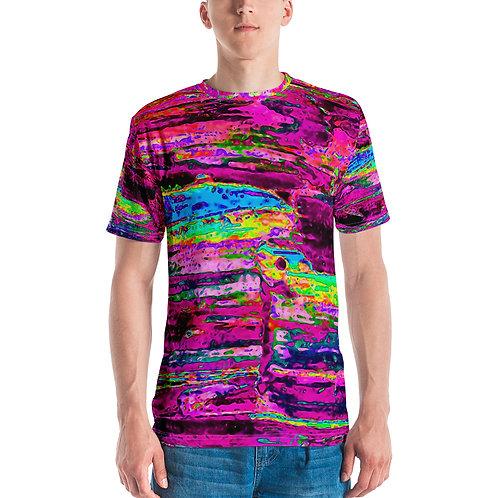 Men's T-shirt Deep purple