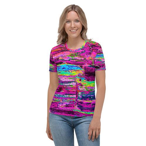 Women's T-shirt Deep purple