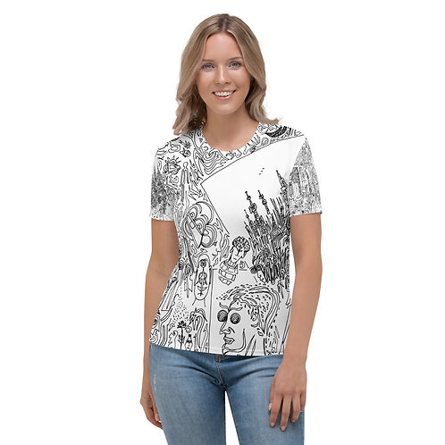 Women's T-shirt Seven cities