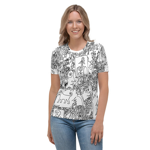 Women's T-shirt Queen of a distant country