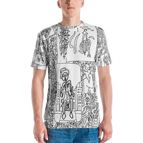 Men's T-shirt Wall Street