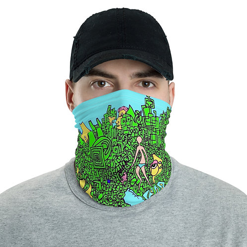 Neck Gaiter My world, and welcome to it