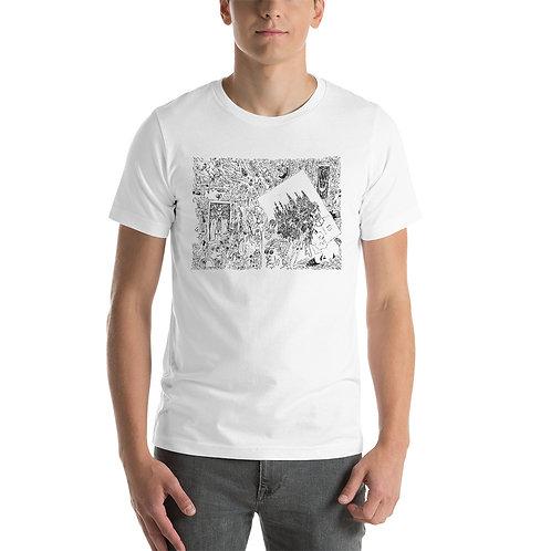 Short-Sleeve Unisex T-Shirt Seven cities