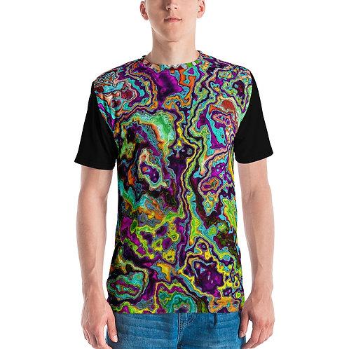 Men's T-shirt Archipelago (black back and sleeves)