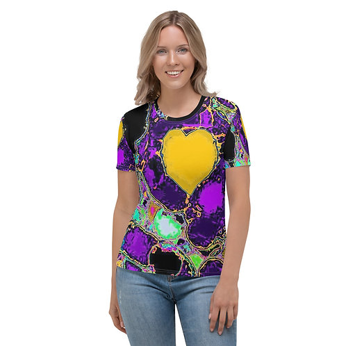 Women's T-shirt A heart of gold