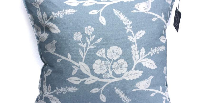 Goldcrest Cushion - Pale Blue