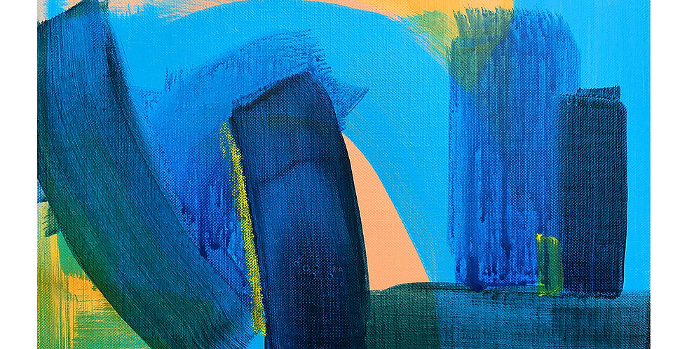 William Watson-West Abstract Painting