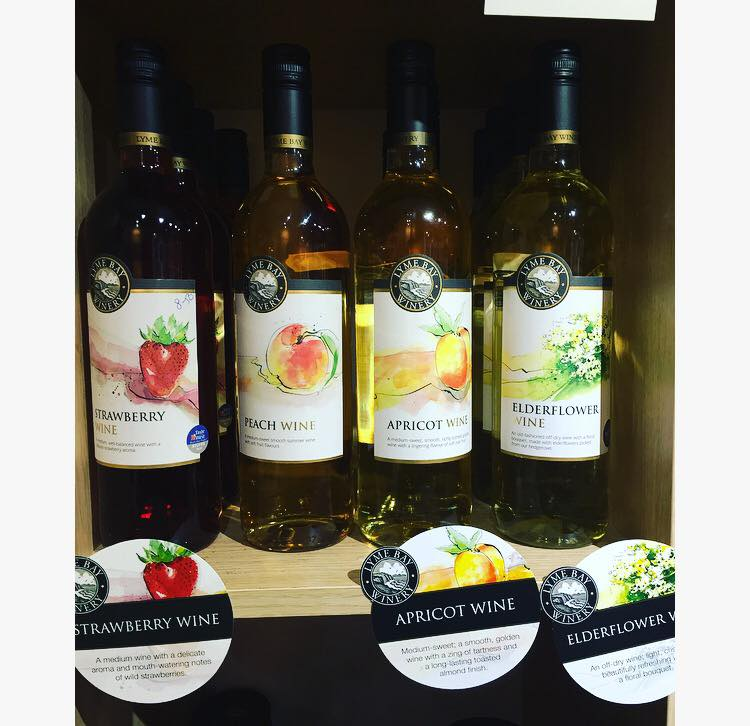 Louis Tea Room Farm Shop Wines
