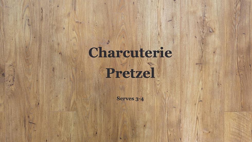 Charcuterie Stuffed Pretzel