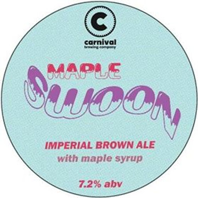 Maple Swoon - 7.2% Imperial Brown Ale with Maple Syrup - 440ml Crowler Fill