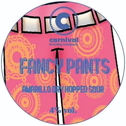 Fancy Pants - 4.0% Dry-Hopped Sour - 440ml Crowler Fill