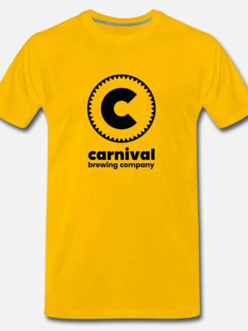 Carnival Logo T Shirt - Yellow