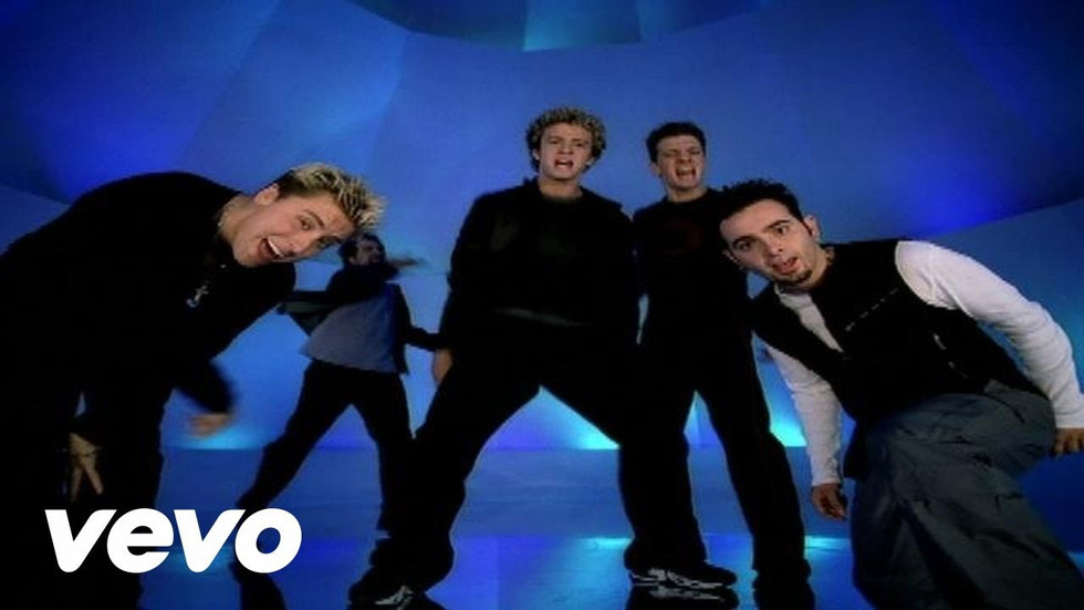"NSYNC ""IT'S GONNA BE ME"""