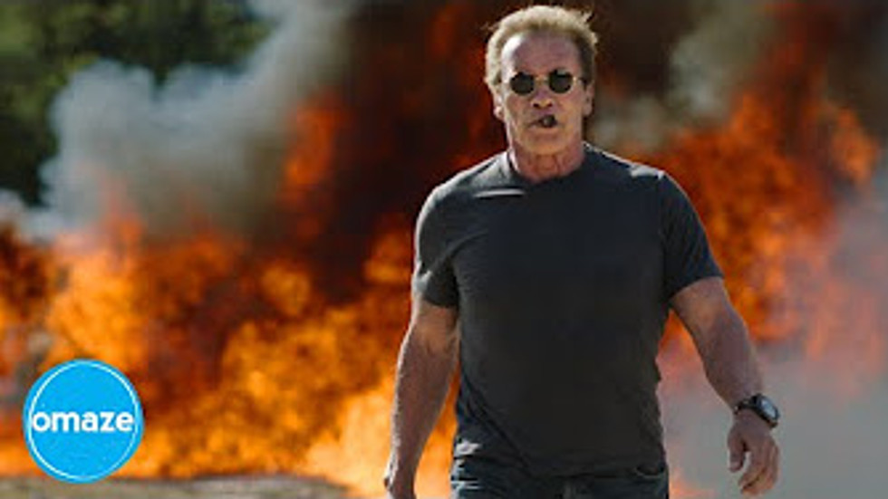 """OMAZE """"BLOW SH*T UP WITH ARNOLD"""""""