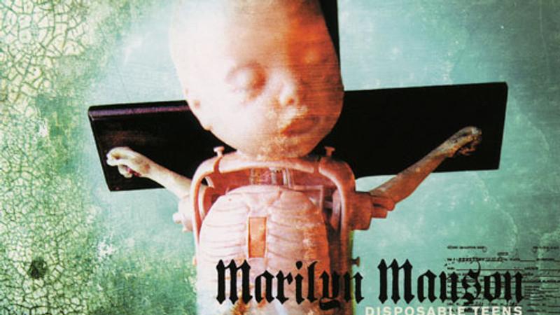 "MARILYN MANSON ""DISPOSABLE TEENS"""