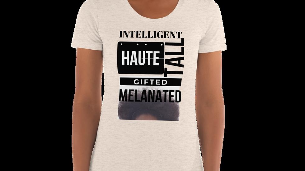 Melanated Women's Crew Neck T-shirt