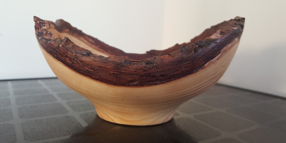 Live edge bowl turning class