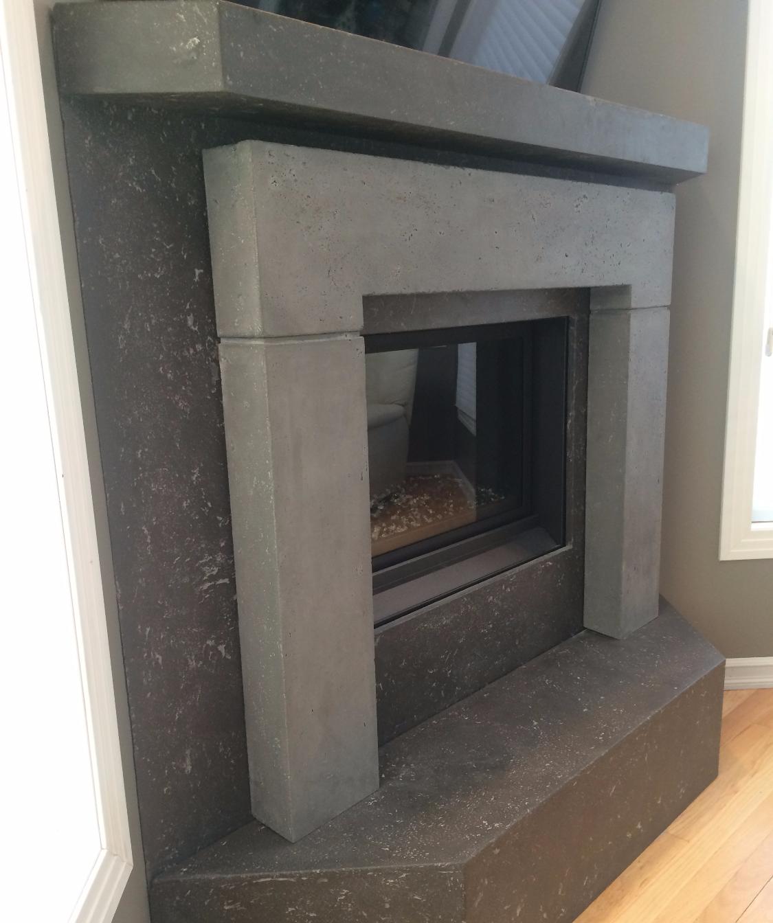 2 Tone Fireplace